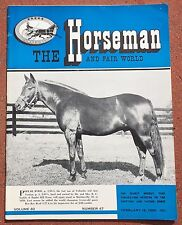 2-18-59 The Horesman and Fair World Magazine Harness Racing Sulky Horse Trotter