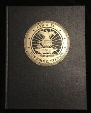 USS JOHN C. STENNIS (CVN-74) Commissioning Program Signed C.O.