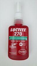 LOCTITE 270 Freinage des filetages – haute résistance. Freinage permanent. 50ml
