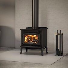 Osburn 900 Wood Stove Fireplace Free Standing Cast Iron Black Small EPA