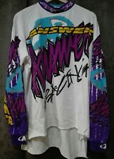 ANSWER USA MAGLIA MOTOCROSS XL (x-large) NUOVA-NEW VINTAGE