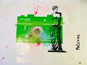 MR CLEVER ART VENUS DE MILO CAMERA Unique Street Art Urban French Contemporary