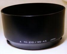 Minolta Maxxum A 70-210mm f3.5-4.5 AF Lens Hood    -     Free shipping worldwide