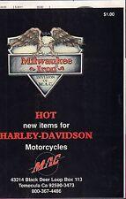 MAC Harley-Davidson Parts and accessories Catalog 101416DBE