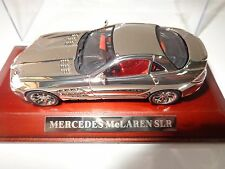 Mercedes Mclaren SLR vanquish miniature chrome plastic car