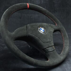 BMW E31 E34 E36 E39 Alcantara Refurbished Leather Steering Wheel Sport Genuine