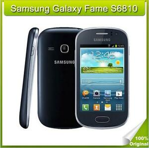 Original Samsung Galaxy Fame S6810 3G 4GB 5MP WIFI GPS Unlocked Android 3.5 in