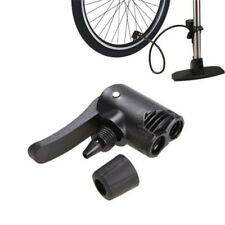 Bicycle Bike Cycle Tyre Tube Replacement Presta Dual Head Air Pump Adapter Valve