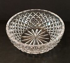 "Rare VTG SPODE Cut Crystal 7-1/4"" Centerpiece Bowl Signed Spode On Bottom MINT!"