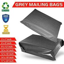 More details for all sizes grey mailing bags strong parcel postage plastic post poly self seal