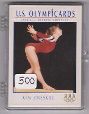 (500) 1992 US OLYMPIC HOPEFULS KIM ZMESKAL CARDS #50 ~ GIANT LOT ~ GYMNASTICS