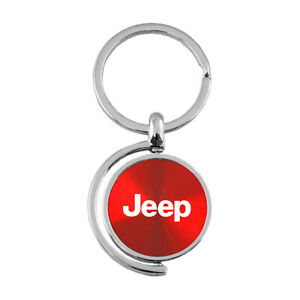 Name Spinner Keychain for Jeep - AUGDP0880