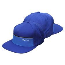 RVCA VA Sport Lowbar Snapback Hat (Blue) - mma surf skate bjj