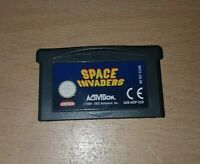Space Invaders - Nintendo Game boy Advance Game GBA Genuine Cart Only