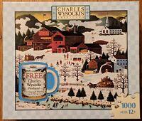 """Charles Wysocki Americana """"Smoke Creek Landing"""" 1000 Piece Jigsaw Puzzle (READ)"""