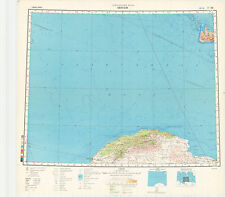 Russian Soviet Military Topographic Maps – BENGHAZI (Libya), 1:1Mio, ed.1987