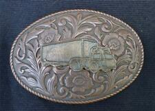 Vintage Trucker Belt Buckle
