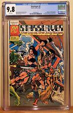 STARSLAYER #2 CGC 9.8 - WHITE *1ST APP. & ORIGIN OF ROCKETEER* DAVE STEVENS*