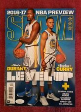 KEVIN DURANT STEPH CURRY Autograph Slam Magazine Signed JSA Golden State Warrior
