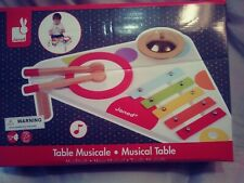 Janod Table Musicale Musical Table
