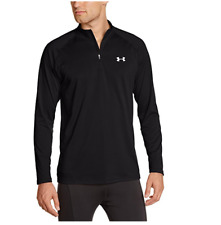Under armour 1242220-003 Tech 1/4 Zip, Men's Shirt, Large - Black