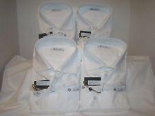 "(4) Genuine Loro Piana Camicia ""Austin"" Dress Shirts. Size 44."