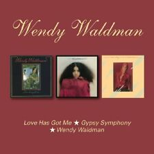 Wendy Waldman - Love Has Got Me/Gypsy Symphony/Wendy (2018) 2CD NEW *27th April*