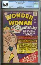WONDER WOMAN #159 CGC 6.0 OW/WH PAGES