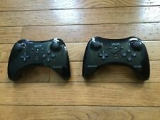 Set of 2 Wii U controllers  wireless and chargeable no cord