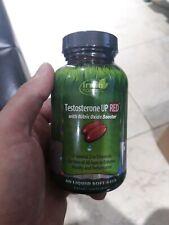 Irwin Naturals testosterona Up Rojo W óxido Nítrico Booster 60 liquidación cápsulas 01/23
