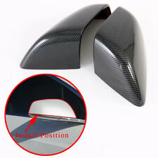 For Tesla Model X 2017-2020 Carbon Fiber Rear View Mirror Cover Trim Accessories