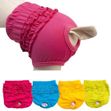 Solid Pet Cat Dog Panty Brief Bitch In Season Sanitary Pants For Girl Female