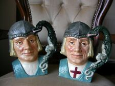 Royal Doulton Large Toby Character Jug - St George - Missing Cross - Unique ?