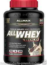 NEW ALLMAX NUTRITION ALLWHEY GOLD PREMIUM ISOLATE WHEY PROTEIN BLEND POWDER 5LBS
