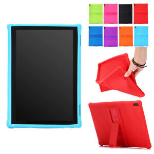 Shockproof Silicone Case For Lenovo Tab E10 TB-X104F/N 10.1'' Tablet Stand Cover