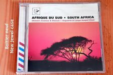 Choeurs Zoulous & Xhosas - Afrique du Sud - South Africa - Boitier neuf - CD