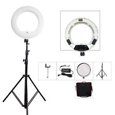 18 inch FS-480II Bi-color LED Dimmable Ring Light Kit fr Youtube/Camera with Bag