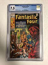 Fantastic Four (1970) # 95 (CGC 7.5 OWTWP) | Jack Kirby + Stan Lee