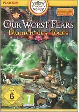 OUR WORST FEARS * BLUMEN DES TODES * WIMMELBILD-SPIEL  PC CD-ROM