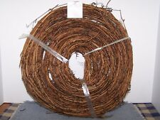 """15 Foot Twig Garland 1/2"""" Thick Bendable Primitive Look Home Decoration Craft"""