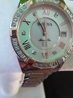 Bulova Sapphire glass, 98R234 Marine Star 23 Diamond gold silver,Two Tone  Watch