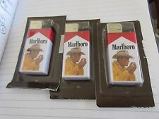 Marlboro Cigarette Lighters , Vintage , New/Old Inventory , Mixed Lot of 11