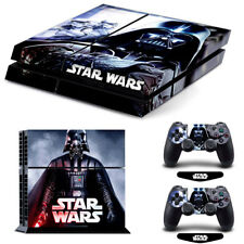 Star Wars Vinyl Cover Skin Stickers for Playstation PS4 Console & 2 Controllers