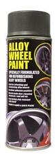 SATIN GREY Alloy Wheel Restoration Spray Paint 400ml Motorbike (GY1)