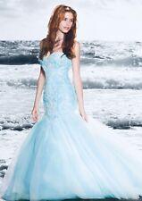 Wedding dress Alfred Angelo Ariel Disney princess style 249 size 10 Blue