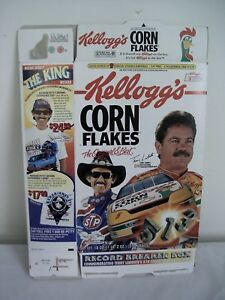 "1997 KELLOGG's CORN FLAKES ""RICHARD PETTY / TERRY LABONTE RECORD BREAKER BOX"