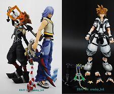 100% Original Square Enix Play Arts Kingdom Hearts 2 Riku & SORA figures NO BOX