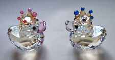 SWAROVSKI Royal Wedding Happy PRINCE PRINCESS Ducks 1117976 UK le3000 Comme neuf en boîte