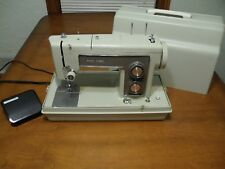 VTG Sears Kenmore Sewing Machine 158 Heavy Duty w/ Case Tested Model 158 TESTED