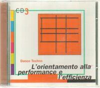 L'ORIENTAMENTO ALLA PERFORMANCE E L'AFFICIENZA CD 3 Dance CD Audio Musicale